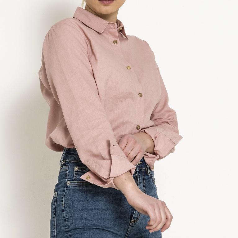 Linen shirt / W Shirt Shirt